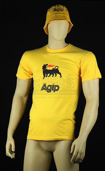 rush yellow agip t shirt sun hat rp027 current price 55. Black Bedroom Furniture Sets. Home Design Ideas