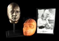 2001: A SPACE ODYSSEY (1968) - Stuart Freeborn Prototype Ape Mask and Lifecast