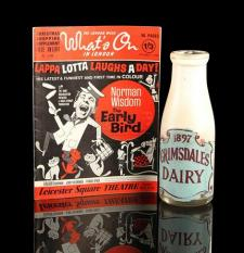 THE EARLY BIRD (1965) - Norman Pitkin's (Norman Wisdom) Milk Bottle
