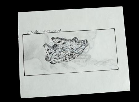 STAR WARS: THE EMPIRE STRIKES BACK (1980) - Hand-Drawn Storyboard - CC1 (2)