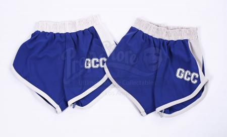 "Lot # 13 - S1E17 - ""Physical Education"": Two Greendale Athletic Department Gym Shorts"