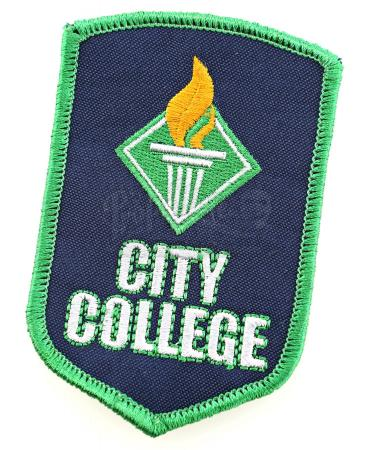"Lot # 14 - S1E09 - ""City College Debate Team Patch"": City College Debate Team Patch"