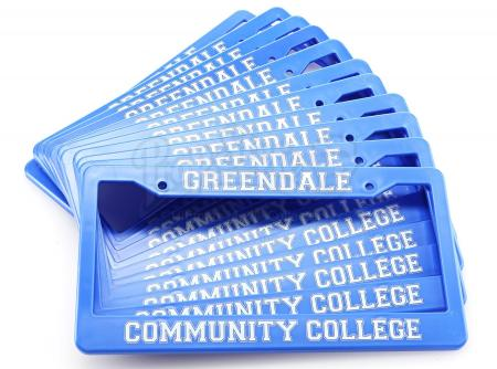 Lot # 115 - Various Episodes: 11 Greendale Community College License Plates