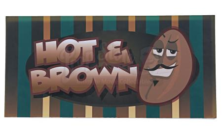 Lot # 117 - Various Episodes: Hot and Brown Coffee Shop Sign