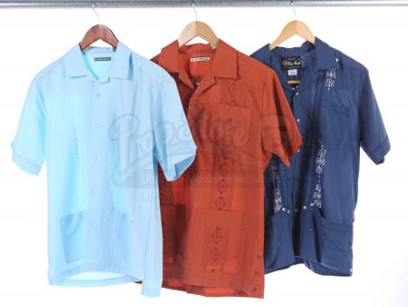 Lot # 147 - Various Episodes: Three Ben Chang (as portrayed by Ken Jeong) Button-Up Shirts