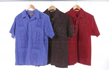 Lot # 150 - Various Episodes: Three Ben Chang (as portrayed by Ken Jeong) Button-Up Shirts