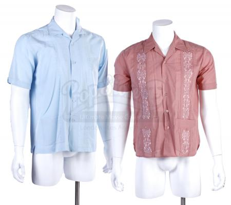 Lot # 153 - Various Episodes: Two Ben Chang (as portrayed by Ken Jeong) Button-Up Shirts