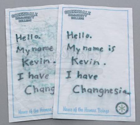 Lot # 289 - S4E01 - History 101: Two Ben Chang's (Ken Jeong) Changnesia Notes