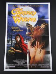 THE COMPANY OF WOLVES (1984) - Quad and One-Sheet Posters