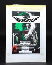 THE LEGEND OF THE WEREWOLF (1975) - Hand-Drawn Vic Fair Poster Artwork
