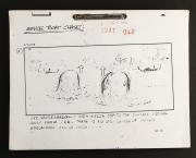 INDIANA JONES AND THE LAST CRUSADE (1989) - Venice Boat Chase Sequence Storyboard Set