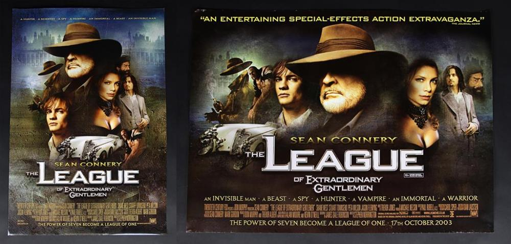 The League Of Extraordinary Gentlemen 2003 Quad And One Sheet Posters Current Price 50