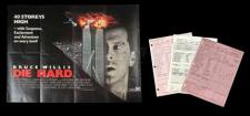 DIE HARD (1988) - Call Sheets and UK Quad Poster