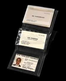 DIE HARD WITH A VENGEANCE (1995) - Simon Gruber's (Jeremy Irons) Fake ID