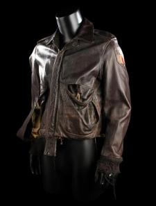EMPIRE OF THE SUN (1987) - Jim's (Christian Bale) Brown Leather Jacket