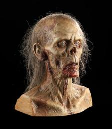 LAND OF THE DEAD (2005) - Zombie Make-Up Test Bust