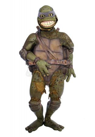 Lot #828 - TEENAGE MUTANT NINJA TURTLES III (1993) - Leonardo's (Mark Caso) Costume
