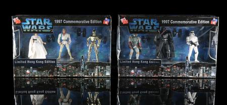 Lot # 516 - 1997 Commemorative Limited Hong Kong Edition Figures