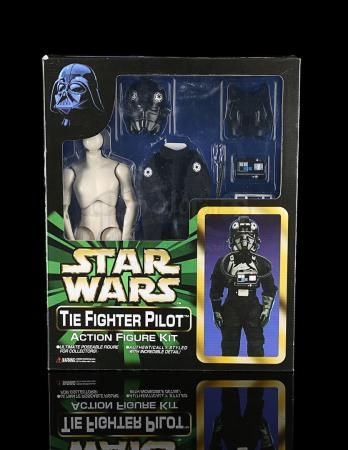 Lot # 517 - TIE Fighter Pilot Action Figure Kit