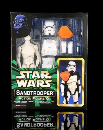 Lot # 518 - Sandtrooper Action Figure Kit