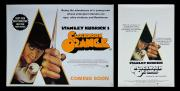 A CLOCKWORK ORANGE (1971) - Printed Belgian & U.K. Re-Release Quad Posters