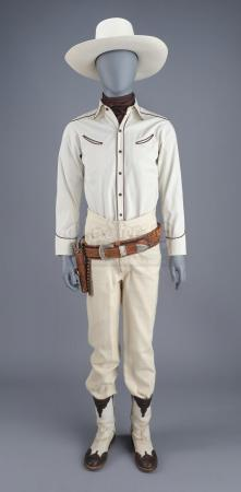Lot # 1: THE BALLAD OF BUSTER SCRUGGS - Buster Scruggs' (Tim Blake Nelson) Cowboy Costume