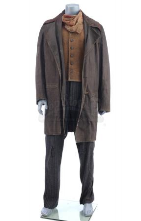 Lot # 3: THE BALLAD OF BUSTER SCRUGGS - The Surly Joe's (Clancy Brown) Distressed Saloon Costume