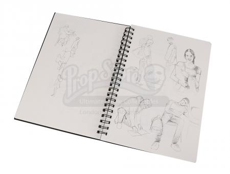 Lot #20 - Byzantium - Frank's (Caleb Landry Jones) Hero Sketch Book