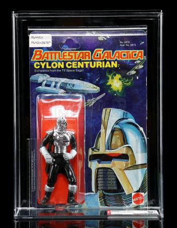Lot # 551: Cylon Centurian Series 1 Figure AFA 80+