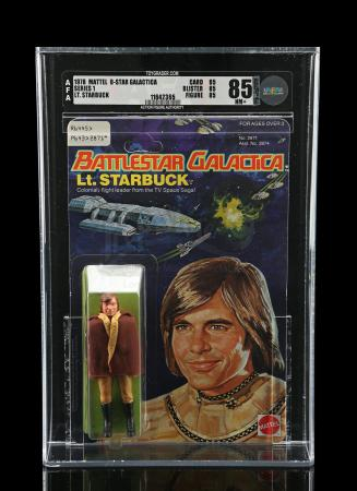 Lot # 552: Lt. Starbuck Series 1 AFA 85