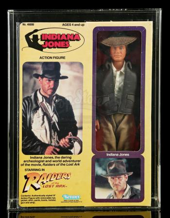 "Lot # 560: Indiana Jones 12"" Figure AFA 80"