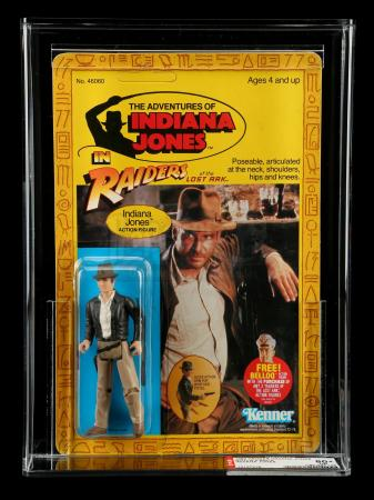 Lot # 561: Indiana Jones ROTLA4 AFA 80+