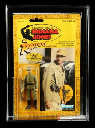 Lot # 563: Indiana Jones (In German Uniform) ROTLA9 AFA 75Y+