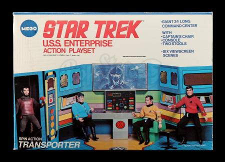 Lot # 632: U.S.S. Enterprise Action Playset