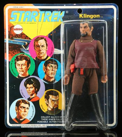 Lot # 635: Klingon Series 1 Figure