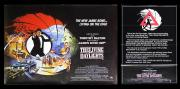 JAMES BOND: THE LIVING DAYLIGHTS (1987) - Piracy Warning & U.K. Quad Posters