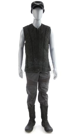 Lot # 116: STAR TREK INTO DARKNESS (2013) - Gargoyle Security Officer Receiving Bay Costume
