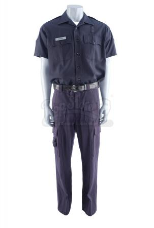 Lot #3 - 21 JUMP STREET (2012) - Jenko's (Channing Tatum) Police Uniform