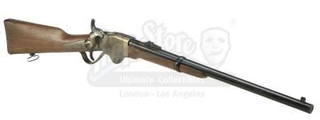 Lot #6 - 3:10 TO YUMA (2007) - Dan Evans' (Christian Bale) Stunt Spencer 1860 Carbine Rifle