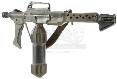 Lot #27 - ALIENS (1986) - Ellen Ripley's (Sigourney Weaver) Screen-Matched Practical Special Effects Colonial Marine Flamethrower Unit