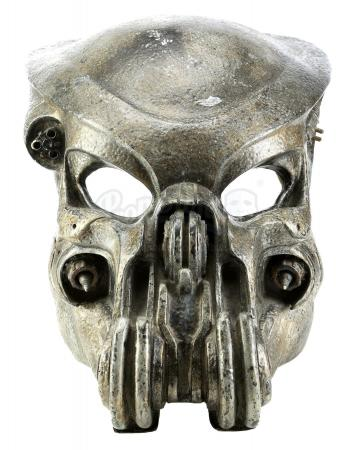 Lot #55 - AVP: ALIEN VS. PREDATOR (2004) - Celtic's (Ian Whyte) Predator Helmet