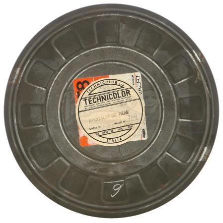 Lot #67 - APOCALYPSE NOW (1979) - Film and Sound Reel Canister Number 769