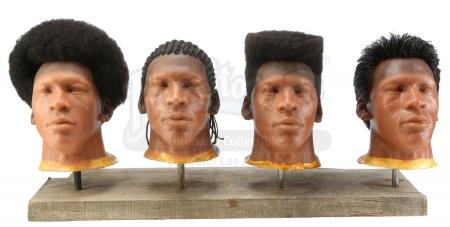 Lot #73 - UNKNOWN PRODUCTION (C. 1985) - Michael Jordan Hairstyle Reference Heads