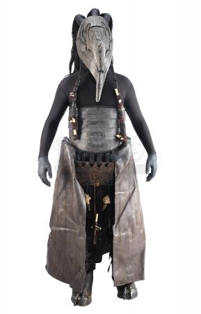 Lot #332 - HELLBOY II: THE GOLDEN ARMY (2008) - Stunt Butcher Guard Costume