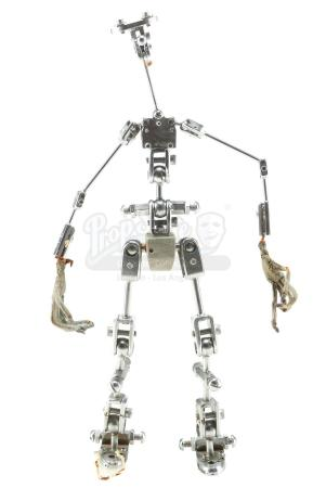 Lot #498 - NIGHTMARE BEFORE CHRISTMAS, THE (1993) - Corpse Dad Stop-Motion Armature