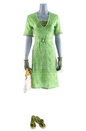Lot #501 - THE NOTEBOOK (2004) - Allie's (Rachel McAdams) Green Shopping Dress and Accessories