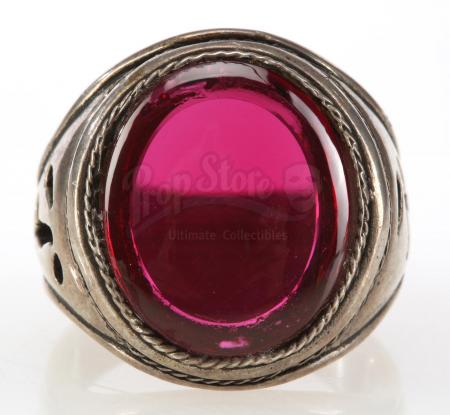 Lot #579 - THE SHADOW (1994) - Faux Ruby Ring