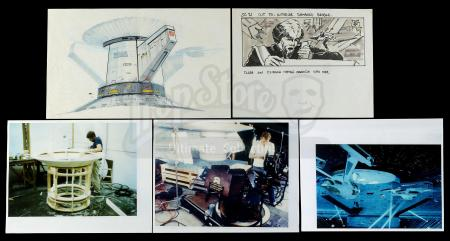 Lot #645 - STAR TREK II: THE WRATH OF KHAN (1982) - Hand-Drawn Production Art and Photos