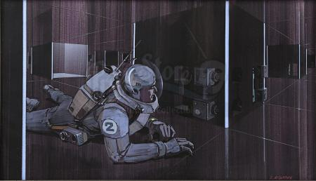Lot #666 - STAR DANCING - Hand-Painted Ralph McQuarrie Concept Illustration