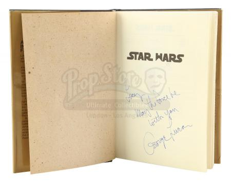 Lot #676 - STAR WARS: A NEW HOPE (1977) - George Lucas-Signed Novelization